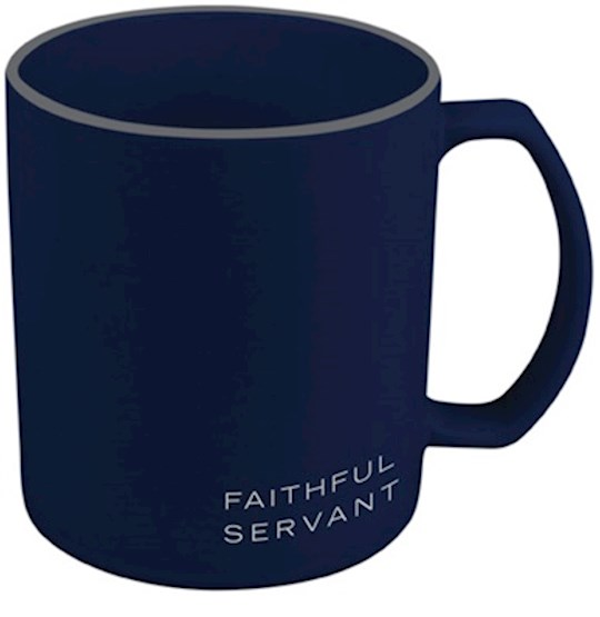 Ceramic Mug-Simply Yours-Navy-Faithful Servant | SHOPtheWORD