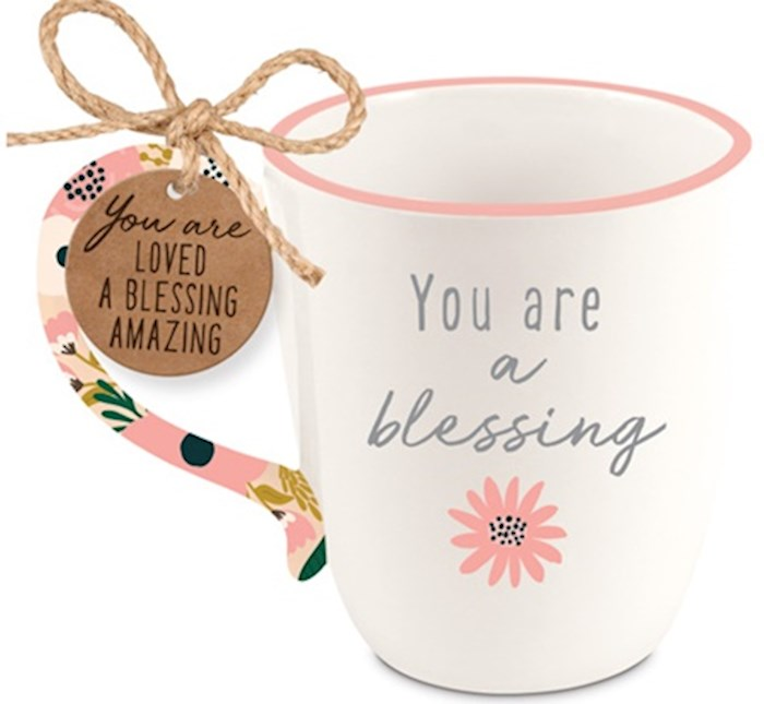 Ceramic Mug-Touch of Floral-Blessing | SHOPtheWORD