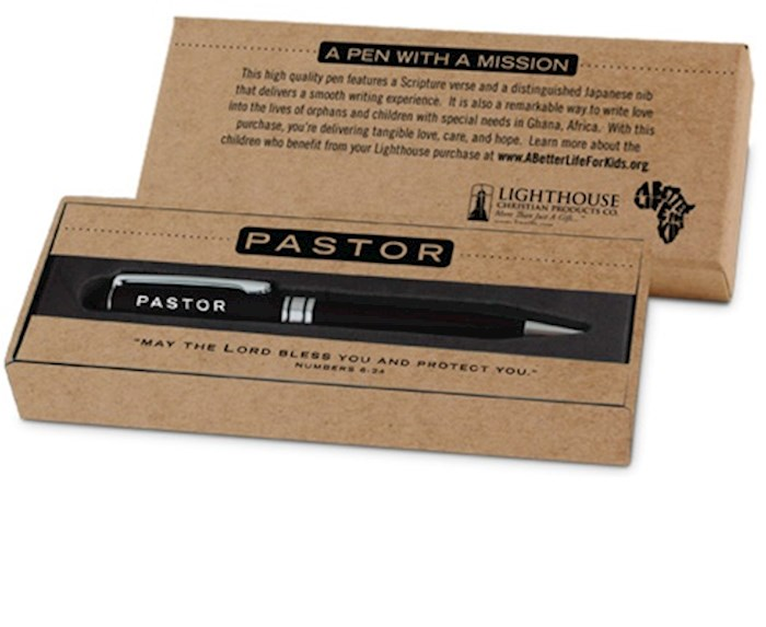 Pen-Simply Yours-Black-Pastor | SHOPtheWORD