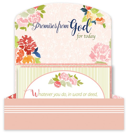 Scripture Cards w/Keepsake Box-Promises From God For Today (Set Of 32) (Col 3:17 ESV) | SHOPtheWORD
