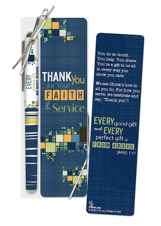 Pen & Bookmark Set-Every Good And Every Perfect Gift... (James 1:17 KJV) | SHOPtheWORD
