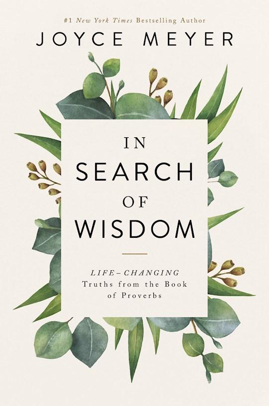 In Seach Of Wisdom Large Print (Jan 2021) by Joyce Meyer | SHOPtheWORD