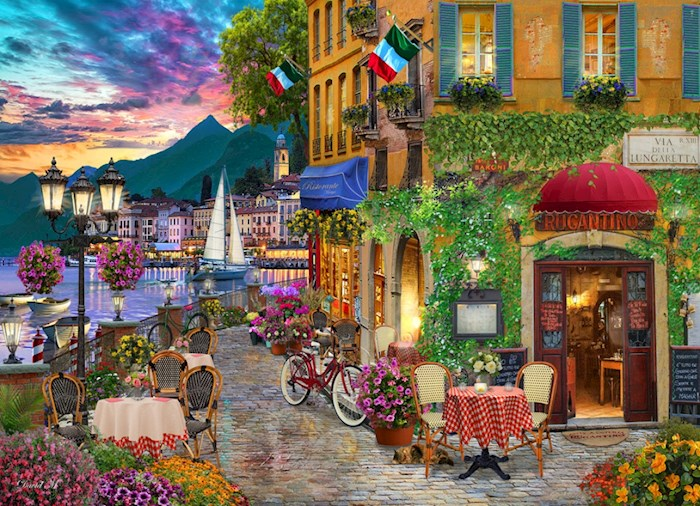 Jigsaw Puzzle-Irresistable Italy (1000 Pieces) | SHOPtheWORD