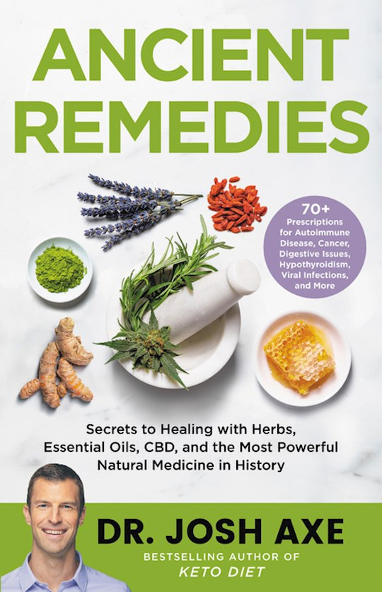 Ancient Remedies Large Print by Josh Axe | SHOPtheWORD