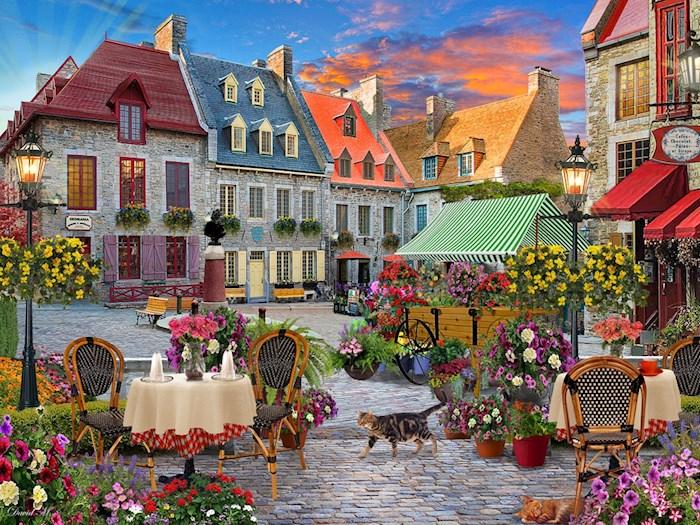 Jigsaw Puzzle-Village Square (550 Pieces) | SHOPtheWORD