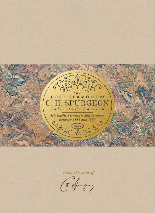 The Lost Sermons Of C. H. Spurgeon Volume V (Collectors Edition) (Apr 2021) by Jason G. Duesing | SHOPtheWORD