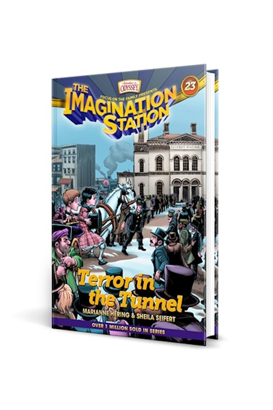 Imagination Station #23: Terror In The Tunnel-Softcover by Marianne Hering | SHOPtheWORD