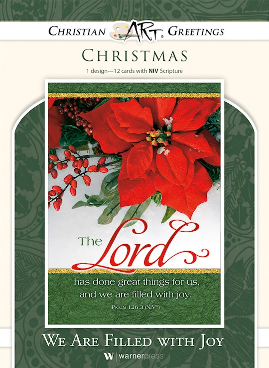 Card-Boxed-We Are Filled With Joy (Psalm 126:3 NIV) (Box Of 12) | SHOPtheWORD