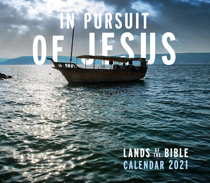 "Calendar-2021-In Pursuit Of Jesus: Lands Of The Bible 2021 Wall (12"" x 12"") 