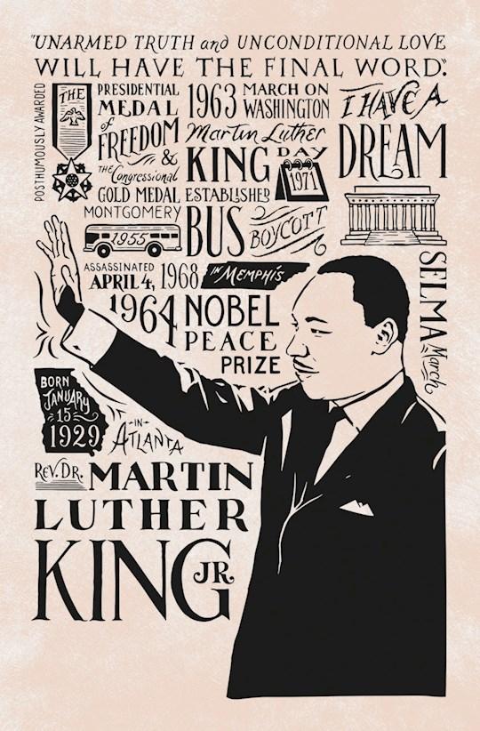 Bulletin-Martin Luther King, Jr. (Galatians 3:28) (Black History) (Pack Of 100) | SHOPtheWORD