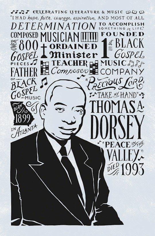 Bulletin-Thomas A. Dorsey (Psalm 31:24) (Black History) (Pack Of 100) | SHOPtheWORD