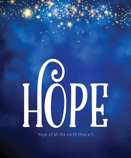 Bulletin-Advent Week 1: Hope/UMC Hymnal (Pack Of 50)-Legal Size  | SHOPtheWORD