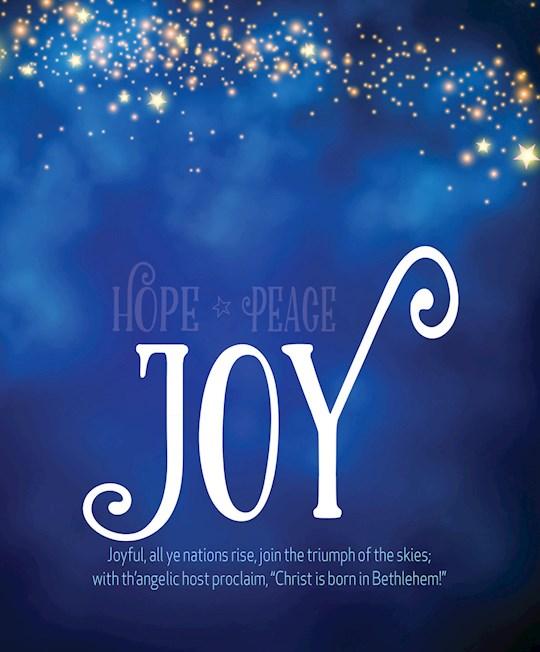 Bulletin-Advent Week 3: Joy/UMC Hymnal (Pack Of 50)-Legal Size   SHOPtheWORD