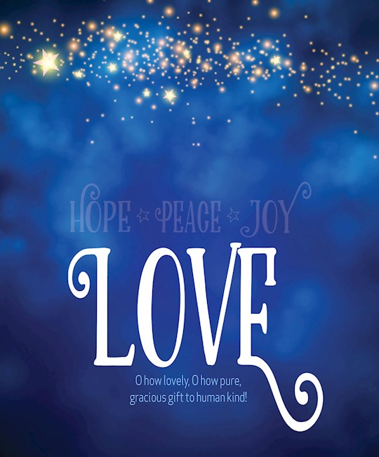 Bulletin-Advent Week 4: Love/UMC Hymnal (Pack Of 50)-Legal Size   SHOPtheWORD