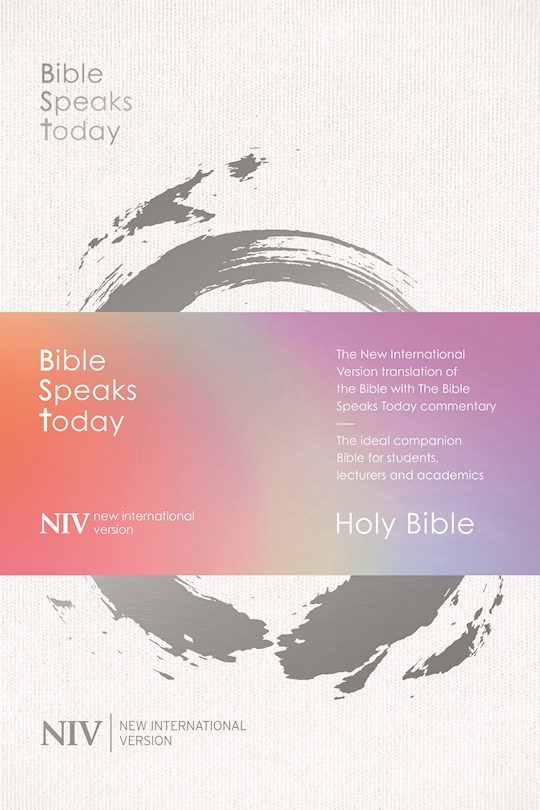 NIV Bible Speaks Today Study Bible-Hardcover | SHOPtheWORD