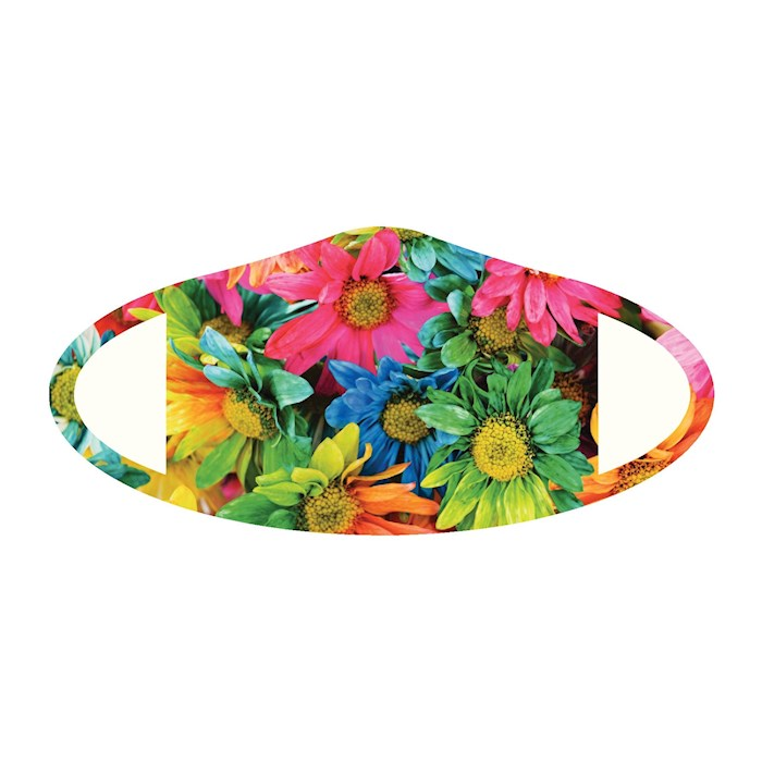 Face Mask-Flower (One Size/Snug Fit) | SHOPtheWORD