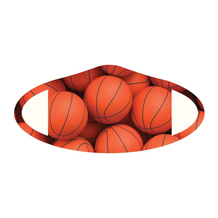 Face Mask-Basketball (One Size/Snug Fit) | SHOPtheWORD