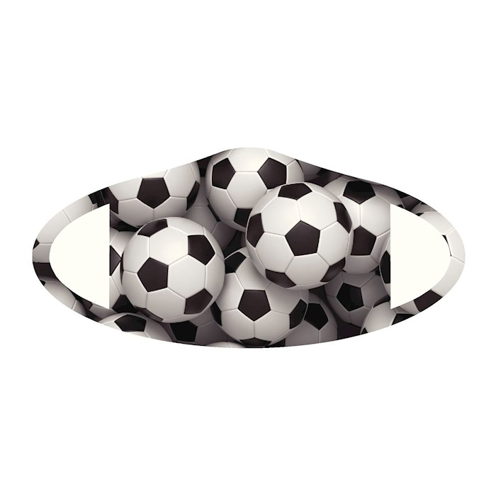 Face Mask-Soccer (One Size/Snug Fit)   SHOPtheWORD