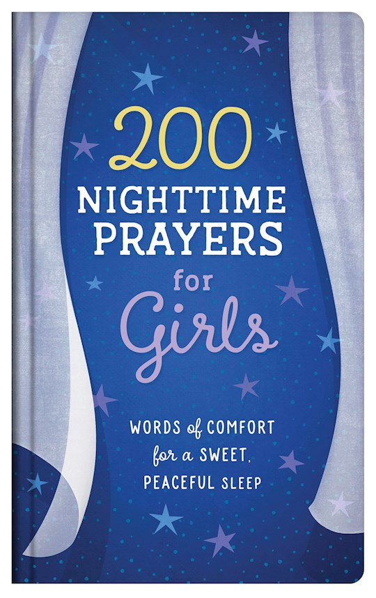 200 Nighttime Prayers For Girls by Hilary Bernstein | SHOPtheWORD