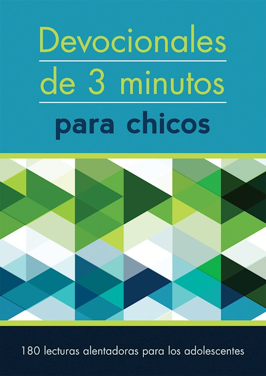 Span-3-Minute Devotions For Guys (Devocionales De 3 Minutos Para Chicos) by Barbour | SHOPtheWORD