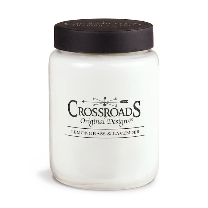 Candle-Jar-Lemongrass & Lavender (26 Oz) | SHOPtheWORD