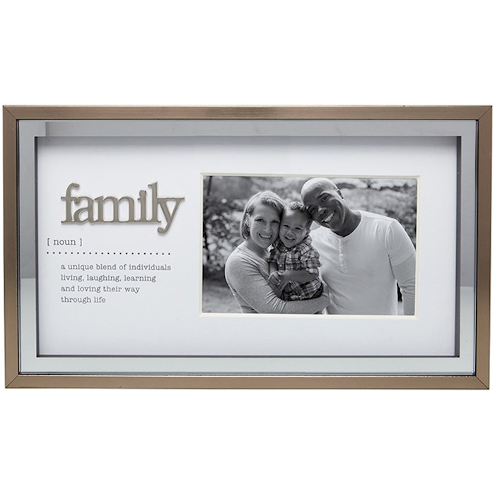 """Frame-Family Meaning (Holds 4"""" x 6"""" Photo) 