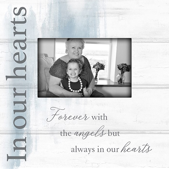 """Frame-In Our Hearts (Holds 4"""" x 6"""" Photo) 