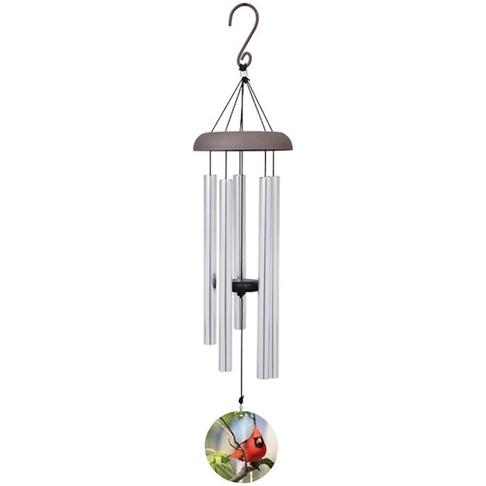 "Wind Chime-Picture Perfect-Cardinal (30"") 