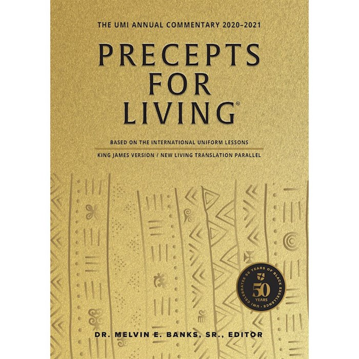 Precepts For Living: The UMI Annual Bible Commentary 2020-2021/Large Print by Ministries Urban | SHOPtheWORD