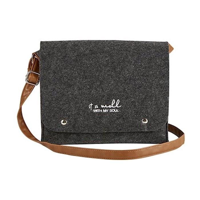 Crossbody Bag-It Is Well-Felt (9.8 x 8.25) | SHOPtheWORD