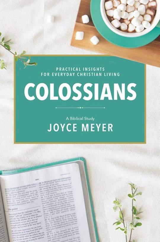 Colossians: A Biblical Study-Softcover (Mar 2021) by Joyce Meyer | SHOPtheWORD