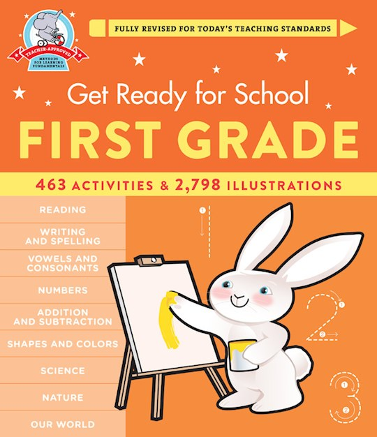 Get Ready For School: First Grade (Revised & Updated) (Apr 2021) by Heather Stella | SHOPtheWORD