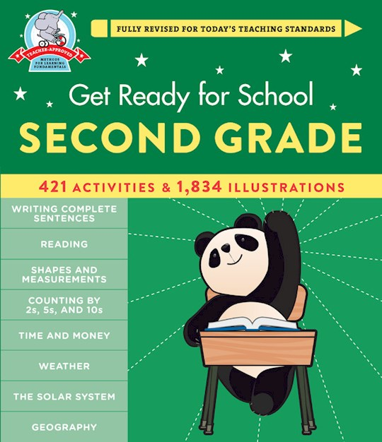 Get Ready For School: Second Grade (Revised & Updated) (Apr 2021) by Heather Stella | SHOPtheWORD