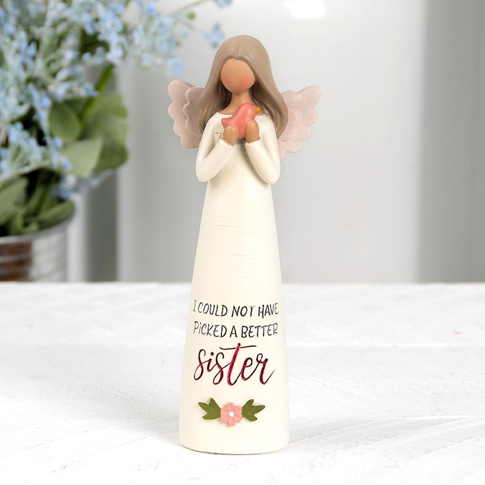 "Figurine-Sister Angel-Could Not Have Picked (5"") 