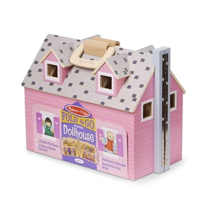 """Dollhouse-Fold & Go (13.5"""" 10.5"""" x 7"""") (Ages 3+)   SHOPtheWORD"""