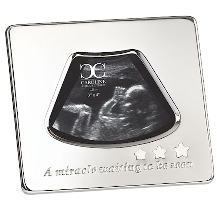 "Frame-Sonogram-A Miracle Waiting To Be Seen (5.25"") 
