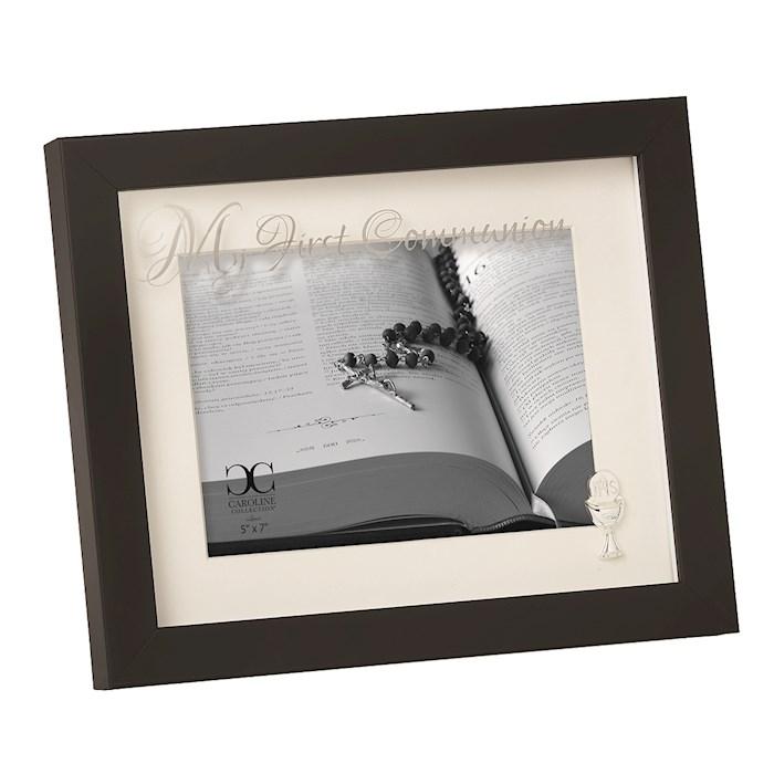 "Frame-First Communion-Black (8"")   SHOPtheWORD"