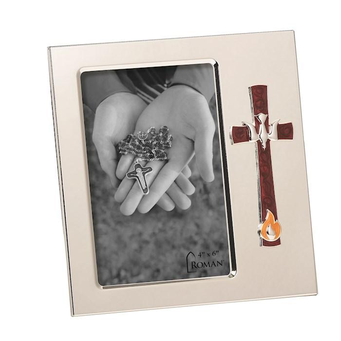 "Frame-Confirmation-Cross & Dove (7"") | SHOPtheWORD"
