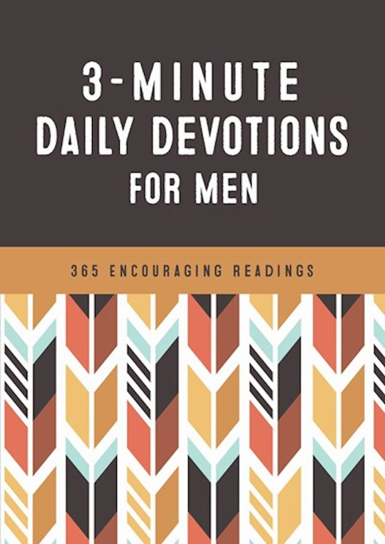3-Minute Daily Devotions For Men (Apr 2021) by Barbour | SHOPtheWORD