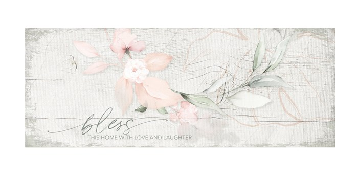 """Plaque-New Horizons-Bless This Home (6"""" x 15.75"""") 