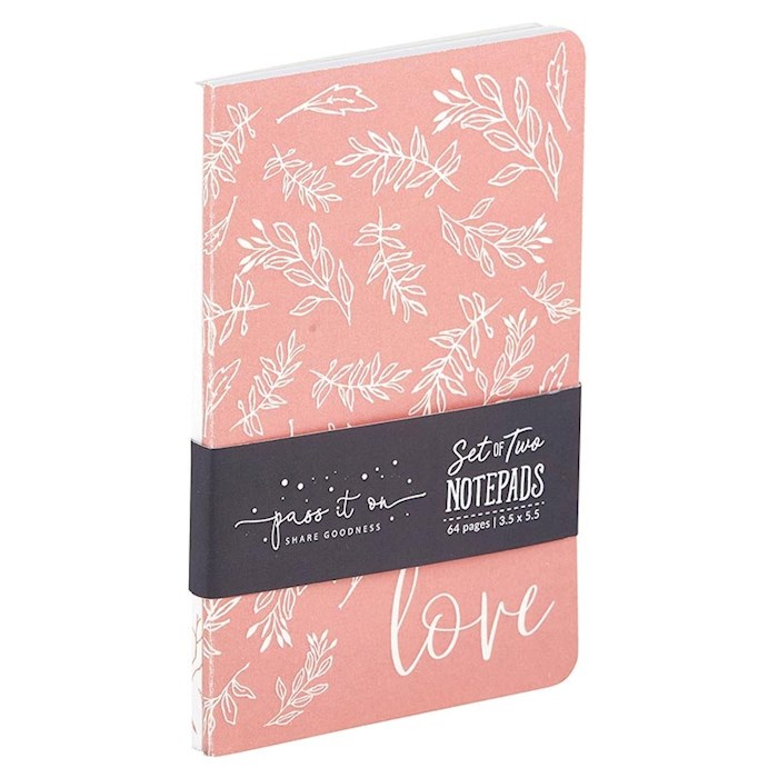 Notebook Set-Do All Things With Love (Set Of 2) | SHOPtheWORD
