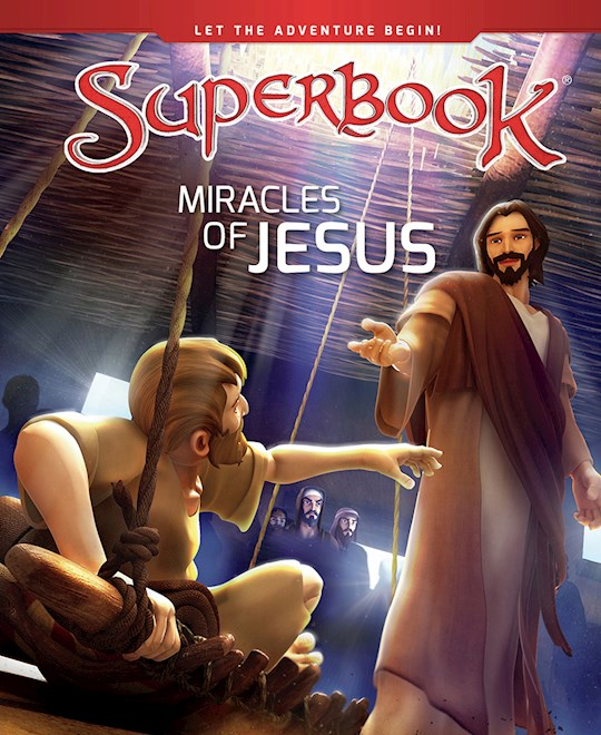 Miracles Of Jesus (SuperBook) by CBN | SHOPtheWORD