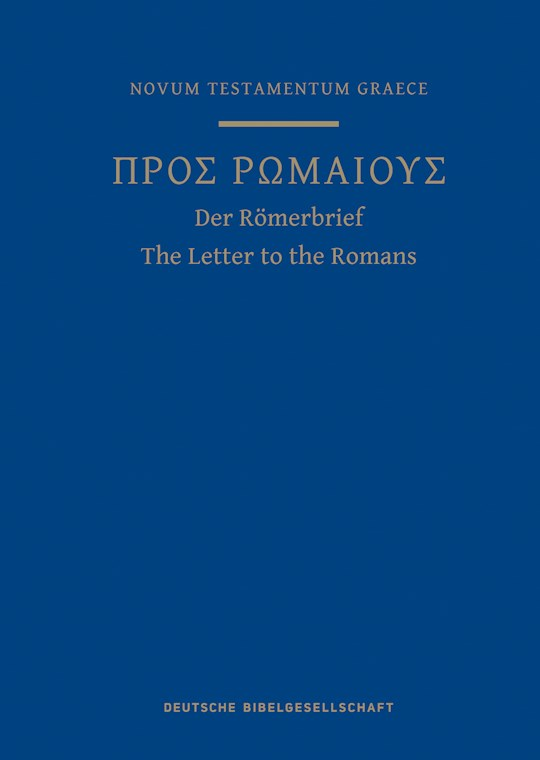 A Greek Scripture Journal For The Letter To The Romans by Bible Soc German   SHOPtheWORD