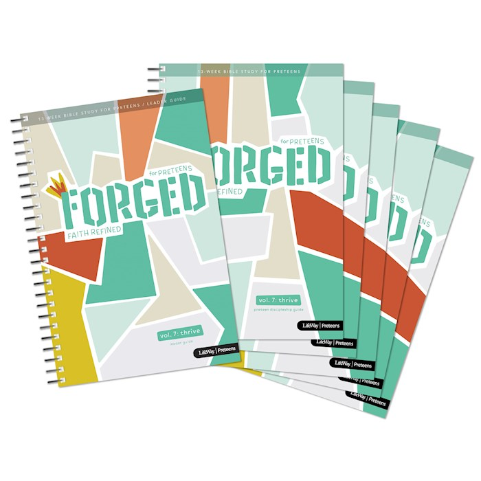 Forged: Faith Refined Volume 7-Thrive (Pack Of 5) (Feb 2021) by LifeWay   SHOPtheWORD