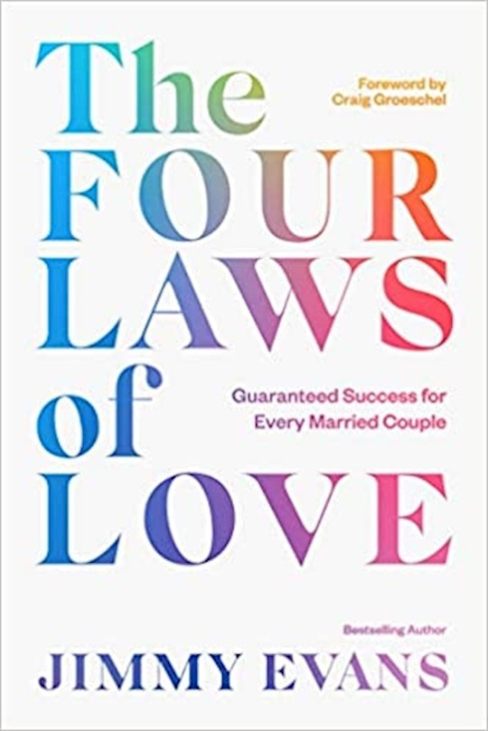 The Four Laws Of Love by Jimmy Evans | SHOPtheWORD