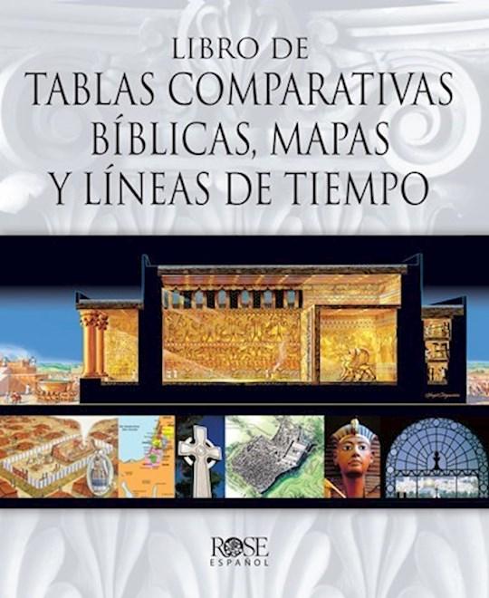 Span-Book Of Bible Charts Maps & Time Lines (Libro de Tablas Comparativas Biblicas, Mapas y Lineas de Tiempo) by Publishing Rose   SHOPtheWORD
