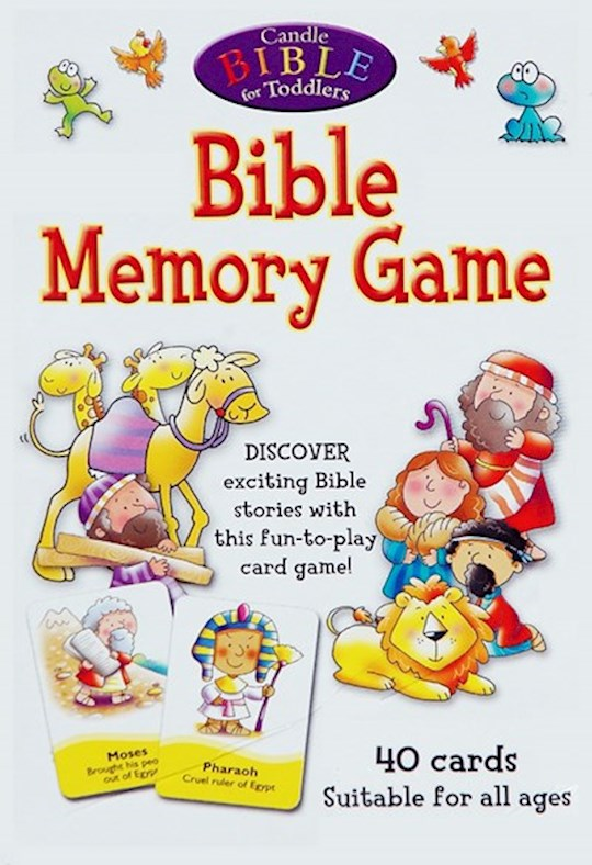 Candle Bible For Toddlers Bible Memory Game (Jul) by Juliet David | SHOPtheWORD