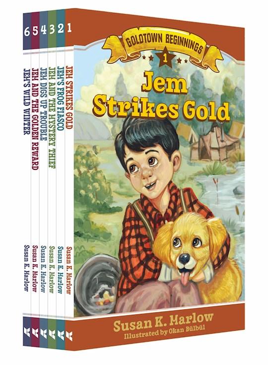 Goldtown Beginnings 6-Book Set by Susan K Marlow | SHOPtheWORD